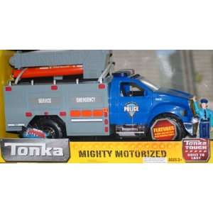 Tonka Motorized Lights and Sounds River Rescue Truck   Blue: Toys