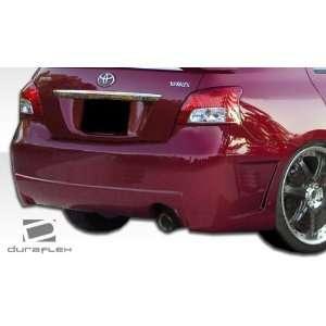 2011 Toyota Yaris 4DR Duraflex B 2 Rear Bumper   Duraflex Body Kits