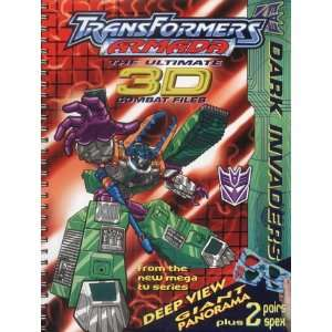 Transformers Armada: 3D Dark Invaders (Madmatch Riddle