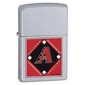Zippo Lighter MLB Arizona Diamondbacks, Satin Chrome