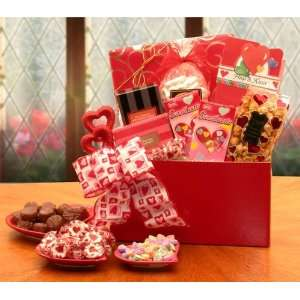 Valentines Sweets Gift Box of Treats
