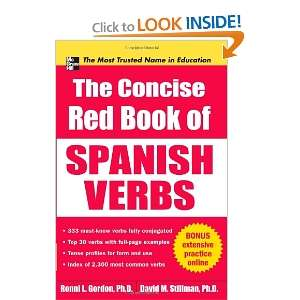 The Concise Red Book of Spanish Verbs (Big Book Series