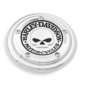 Harley Davidson Willie G Skull Air Cleaner Trim 29417 04