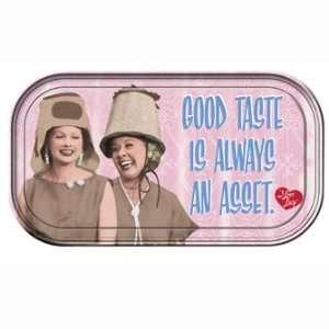 LOVE LUCY GOOD TASTE MAGNETIC MINI TIN TRAY  Kitchen