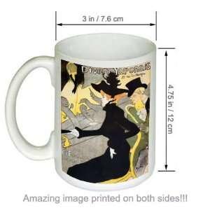 Henri de Toulouse Lautrec Art COFFEE MUG Divan Japonais