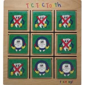 Tic Tac Tooth Dental Game  Toys & Games