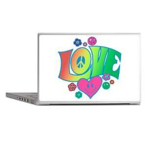 Laptop Notebook 13 Skin Cover Love Peace Symbols Hearts
