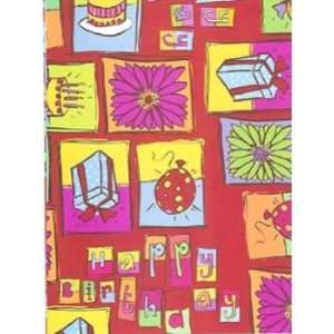 Happy Birthday Gift Wrapping Paper Case Pack 9 Everything