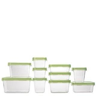 OXO Good Grips 12 Piece LockTop Container Set with Green Lids OXO Good