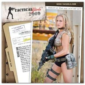 Tactical Girls 2009 Gun Calendar   13 months