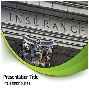 Life Insurance Powerpoint Templates   Life Insurance Background for
