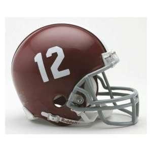 Alabama Crimson Tide Replica Mini Helmet W/ Z2B Mask