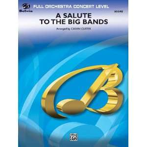 A Salute to the Big Bands Conductor Score