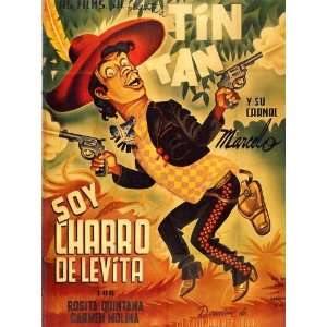 Soy charro de Levita Poster Movie Mexican 27x40: Home