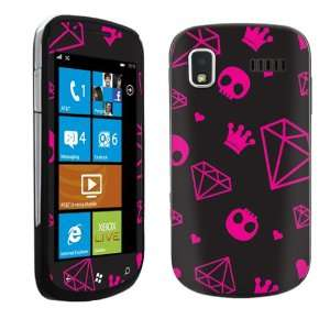 Vinyl Protection Decal Skin Diamond Skull Cell Phones & Accessories