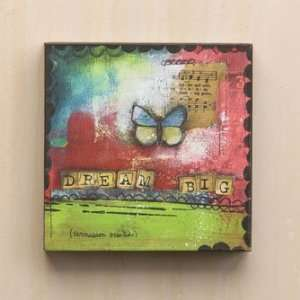 Demdaco The Kelly Rae Roberts Collection Dream Big Wall
