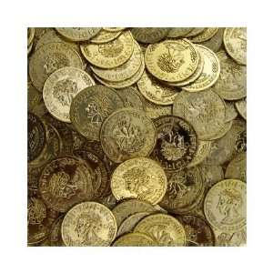 Gold Coins (144 Pc)  Plastic Toy Coins for Pirate Parties