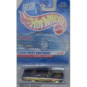 1998 FIRST EDITION 635 purple 65 IMPALA LOWRIDER 8 of 40 164 Scale