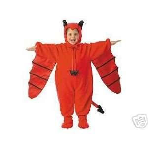 Deluxe Devil Plush Flying Bat Costume NWT 18 24 Months