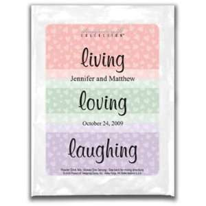 Cocoa Wedding Favor   Living, Loving, Laughing  Grocery