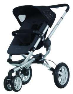 Quinny Buzz 3 Wheel Baby Stroller   Rocking Black (884392557591