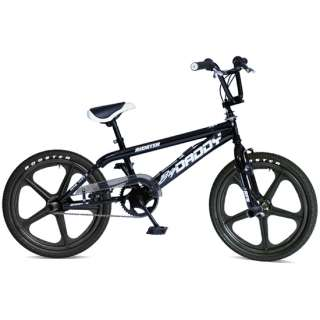 New Rooster Big Daddy Boys BMX Bikes Black Mag Wheels