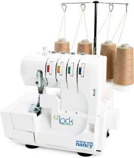 Sewing Machines   Sewing With Nancy EZ?Lock Serger Machine