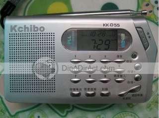 Full Wave Band Handheld Portable Satellite Radio D55   DinoDirect