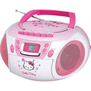 Kitty Stereo CD Boombox w/ Cassette Player/Recorder & AM/FM Radio