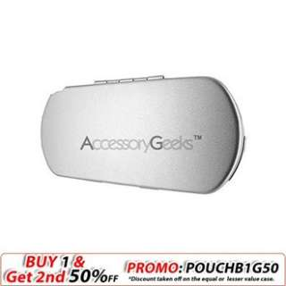 Get a new look w/ Sony PSP Metal Armor Case   Silver at AccessoryGeeks