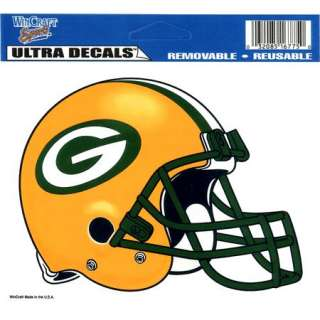Ultra Decal Removable Vinyl Sticker NFL Green Bay Packers ultra decal