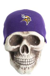 Minnesota Vikings NFL Beanie Skull Cap Hat   Purple