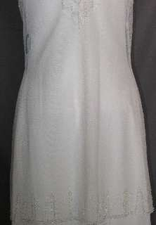NWT Jessica McClintock Fabulous Ivory 1920s Style Wedding Gown 10