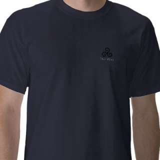 Triskele Symbol spiral five thirds turns, The Way Tee Shirts from