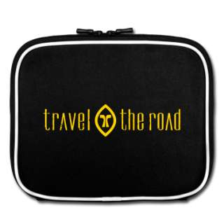 Travel the Road logo Bags  iPad Sleeve designed by traveltheroad1