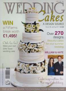 Wedding Cakes Magazine Issue 38 by Squires Kitchen [23398] Details