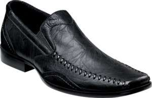 Stacy Adams Lukas Mens Leather Shoes Black (24565)