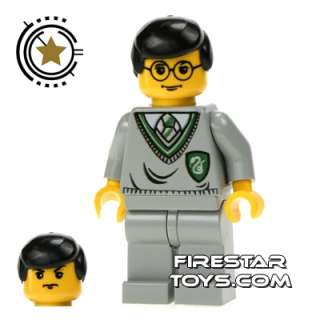 Figure   Harry/Goyle Slytherin Logo  Harry Potter LEGO Minifigures