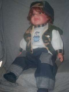 Beautiful Cathay Collection Vinyl Doll Boy 20 New in Box