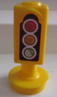 Fisher Price Little People Street Stop Light Traffic