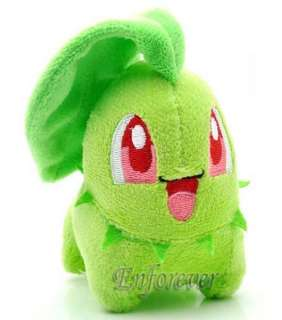 Pokemon Chikorita Plush Soft Doll Toy New^PC656