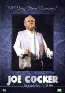 Joe Cocker Live In Concert / New DVD