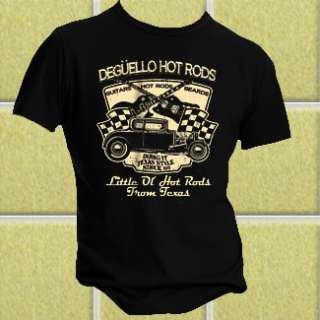 ZZ Top Deguello Hot Rods T shirt Billy Gibbons ZZ Top T shirt [bw