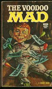 MAD pb Voodoo 1970s Alfred E Newman Kelly Freas