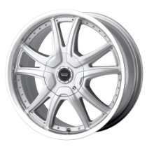 Cheap ION Alloy Wheels   American Racing Alert AR607 Silver Wheel with
