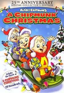 Alvin and the Chipmunks   A Chipmunk Christmas DVD, 2006, 2 Disc Set