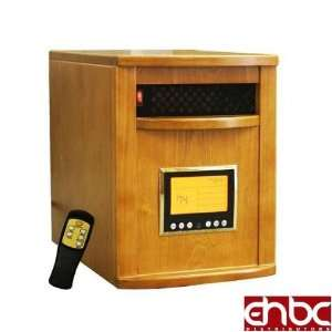 OAK 1500W PORTABLE ELECTRIC INFRARED SPACE HEATER LCD