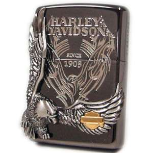 JAPANESE DESIGN EAGLE METAL hd27 HARLEY DAVIDSON ZIPPO