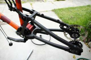 NUCLEON TFR MEDIUM FRAME full suspension bike ROHLOFF transmission