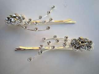 Rhinestone Diamond Crystal Hair Bobby Pin Clip
